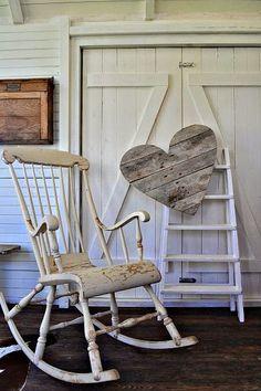 Inspiracje w moim mieszkaniu {Inspiration in my apartment}: Bujany fotel/ Rocking chair