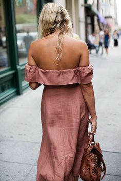 On the Street…Off the Shoulder, New York