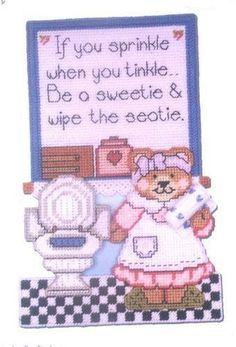 Toilet sweetie sign 1/6