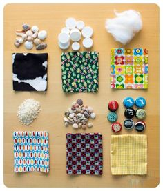 Sensory baby toy: sensory bags and recycled can. Baby Sensory Play, Baby Play, Diy Sensory Toys For Babies, Quilt Book, Diy For Kids, Crafts For Kids, Diy Crafts To Sell, Diy Montessori Toys, Sensory Bags