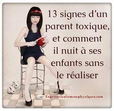 Signes d'un parent toxique: Il existe toutes sortes de parents et de possibilités parentales. Certains sont très stricts et contrôlent tous les aspects de
