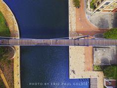 Pedestrian Bridge, Western Australia, Perth, River, City, Photography, Photograph, Fotografie, Cities