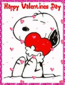 Snoopy (with floating hearts)-..