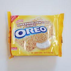 Marshmallow Crispy Oreos, You Complete Us