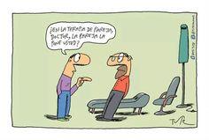 Terapia de pareja... #Tute Humor Grafico, Leo, Funny Memes, Family Guy, Happy, Fictional Characters, Cartoons, Smile, Psychology Jokes