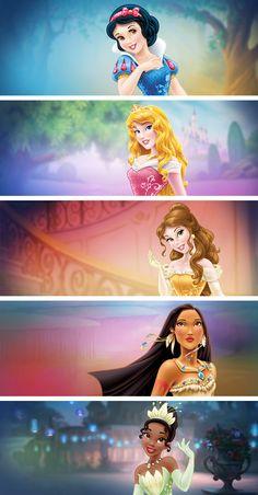 """""""I like Sleeping Beauty and Tiana"""""""