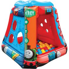Thomas the Tank Engine Master of the Railway Inflatable Ball Pit