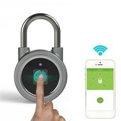 Buy Mini Bluetooth Lock Phone APP Waterproof Keyless Fingerprint Lock Unlock Anti Theft Padlock Door Lock For IOS Android Mini Bluetooth Speaker, Electronic Lock, Outdoor Speakers, Door Locks, Aluminium Alloy, Suitcase, Usb, Travel, Ebay