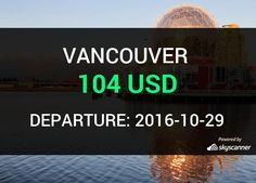 Flight from Las Vegas to Vancouver by Alaska Airlines #travel #ticket #flight #deals   BOOK NOW >>>