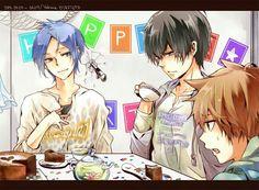 Mokuro, Hibari and Tsuna