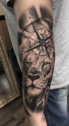 Likes, 7 Kommentare - Henrique Torres Tattoo (Henrique Torres . - Likes, 7 Kommentare – Henrique Torres Tattoo (Henrique Torres … – – – - Tribal Lion Tattoo, Lion Forearm Tattoos, Lion Head Tattoos, Forarm Tattoos, Lion Tattoo Design, Forearm Tattoo Men, Leg Tattoos, Body Art Tattoos, Tattoos For Guys