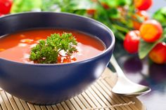 Gazpacho is a Spanish (or Andalusian) vegetable soup that is served cold. It's an excellent recipe choice for a Candida diet.