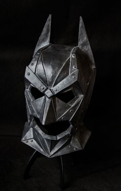 The Dark Knight batman cowl collectible by Ministryofmasks on Etsy, £60.00