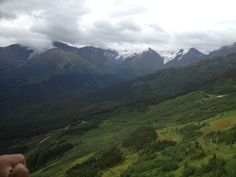 View from the Alyeska tram
