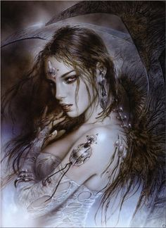 Luis Royo art.  One of my favorite Artist ever!!!