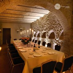 The millenary history of Castello Marcantonio is told by the masonry work, testimony of the evolution of the history of the building over centuries. Masonry Work, Italy Wedding, Wedding Ceremony, Restaurant, Dining, Beautiful, Twist Restaurant, Food, Wedding Ceremonies
