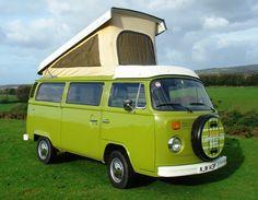 Tallulah the Camper Van - VW Camper Van holidays