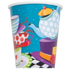Check out Tea Party 9oz Cups - Birthday in a Box from Birthday In A Box