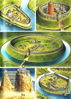 Russian fort to castle transitions. - Russian fort to castle transitions. Fantasy City, Fantasy Castle, Fantasy Map, Fantasy Places, Medieval Fantasy, Fantasy World, Dungeons And Dragons, Dungeon Maps, Fantasy Setting