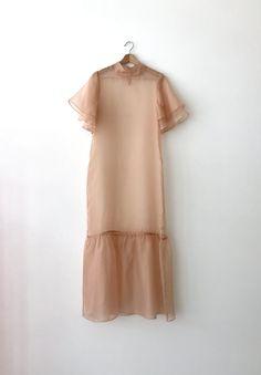Organza Dress, Silk Organza, Silk Chiffon, Silk Dress, Chifon Dress, Maxi Wrap Dress, Dress Me Up, Fashion Dresses, Short Sleeve Dresses