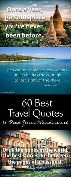 Best Travel Quotes and Travel Photography. 60 quotes to feed your wanderlust and… – Best Travel Quotes and Travel Photography. 60 quotes to feed your wanderlust and… Foodie Travel 🍏 Best Travel Quotes, Best Quotes, View Quotes, Quotes Quotes, Motivational Quotes, Quotes About Photography, Travel Photography, Travel Pictures, Travel Photos