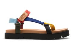 Multi color sandals from Bally SS16 #men