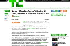 http://techcrunch.com/2013/06/02/nimbuzz-offers-free-service-to-hutch-in-sri-lanka-continues-to-push-telco-strategy-in-asia/ ... | #Indiegogo #fundraising http://igg.me/at/tn5/