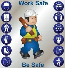 Illustration about Builder wearing personal protection equipment and safety icons. Illustration of caricature, icons, manufacturing - 16023690 Safety Quotes, Safety Slogans, Health And Safety Poster, Safety Posters, Safety Signs And Symbols, Safety Cartoon, Safety Pictures, Workplace Accident, Workplace Safety Tips