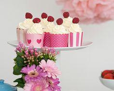 Mit diesen köstlichen Cupcakes steht einer feierlichen Teeparty nichts mehr im Weg. Viel Spaß beim Backen!