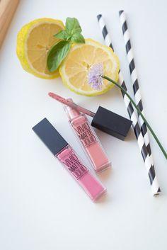 Maybelline Vivid Matte Liquid Lipsticks in °50 Nude Thrill and °05 Nude Flush