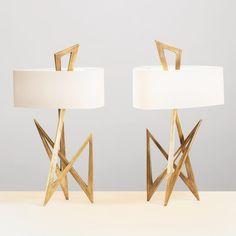 "351 Likes, 14 Comments - Herve Van Der Straeten (@hervevanderstraetengalerie) on Instagram: ""Lampe ZIGZAG #lighting #design #bronze #gold #interiordesign #decoration #object…"""