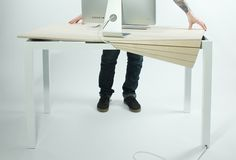 Tambour table from Michael Bambino