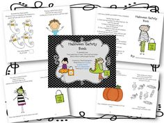 Freebielicious: Halloween Safety Interactive Book