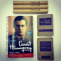 Check out our giveaways for The Letters of Ernest Hemingway Volume 2! #hemingwayv2