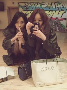 Ahyoung and Subin - Dal Shabet