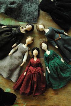 Willowynn cloth dolls Oct 2017