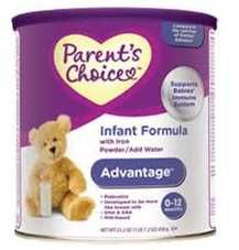 Formula Coupons | $5 off Parents Choice Infant Formula | http://www.passionforsavings.com/coupon/2011/12/formula-coupons-5-off-parents-choice-infant-formula/