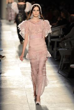 Karl Lagerfeld for Chanel (Haute Couture Fall/Winter 2012/13).