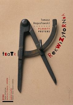 Teatr Rekwizytornia, Tomasz Boguslawski, Polish Poster
