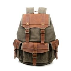 Color : Brass, Size : S Dig dog bone Mens Messenger Bag Crazy Horse Shoulder Bag The First Layer Of Leather Leather Handmade Retro Casual