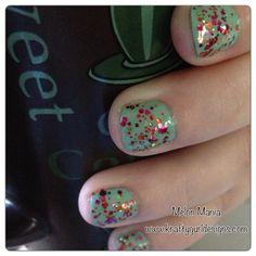 Nail Art for Short nails -Melon Mania