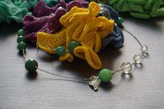 collezione etra summer collana agate e cristalli di rocca