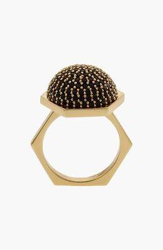 Rachel Zoe 'Sophia' Pavé Dome Ring available at #Nordstrom
