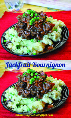 Have you ever tried jackfruit? This is wonderfully rich dish that is perfect as a vegan main meal.