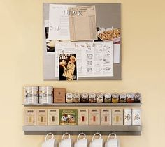 I love how the teas and spices are organized. (This wouldn't stay like this for long if you had kids!)