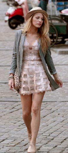 Blake Lively day sparkles, Gossip Girl