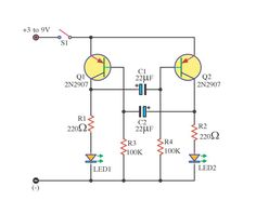 Astable #Oscillator circuit is an electronic circuit that produces a periodic, oscillating electronic signal, often a sine wave or a square wave.It is used in many electronic devices.