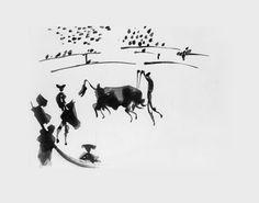 Picasso, 'Clavando un Par de Banderillas', Aquatint, 1957