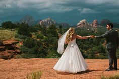 Jane in the Woods || Sedona Wedding Photographer || Elegant Los Abrigados Wedding
