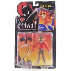 Batman: The Animated Series > Scarecrow Action Figure >>> Want to know more, click on the image. (This is an affiliate link) #ActionToyFigures